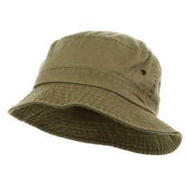 Washed Hat-Khaki