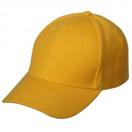 New Wool Look Cap-Gold