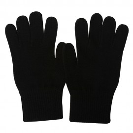 Large Men's Magic Gloves-Black