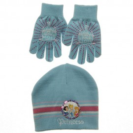 Disney Princess Knit Hat and Glove Set
