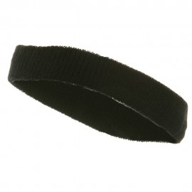Head Bands (terry)-Black