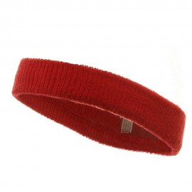 Headband (terry)-Red