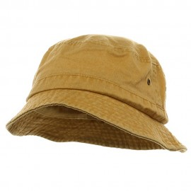 Youth Washed Hat-Mango