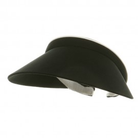 Ladies Clip On Visor-Black