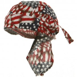 Flag Series Headwraps-Repeat USA Flags