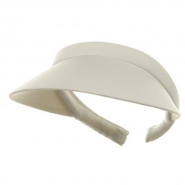Nylon Small Clip On-White
