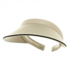 Piping Clip On Visor-Putty