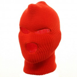 Ski Mask with Three Holes