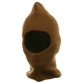 Thinsulate One Hole Ribbed Mask - Copper