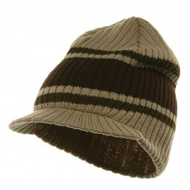 Striped Campus Jeep Cap