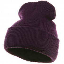 Long Beanie-Purple
