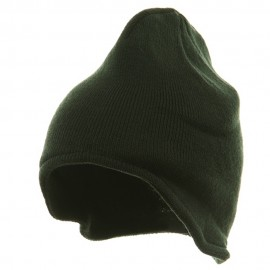 Acrylic Fleece Knit Beanies