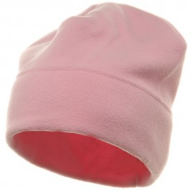 Solid Fleece Winter Cap