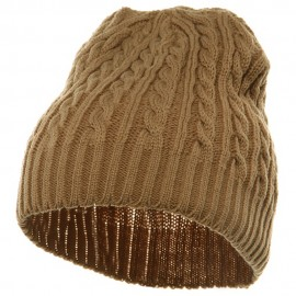 Twister Skully Beanie - Khaki
