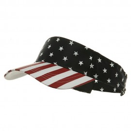 USA Flag Visor-USA Star Stripe