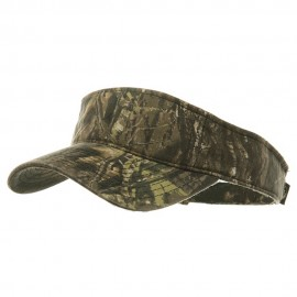 Garment Washed Camo Visor