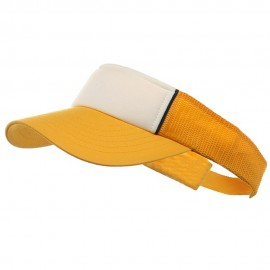 Mesh Visors-Yellow-White