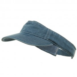 Denim Visor-Lt Blue