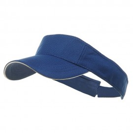 Athletic Mesh Visors-Royal
