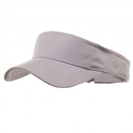 Brushed Sports Visor-Lavender