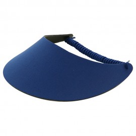 Fabric Foam Visor - Solid Royal