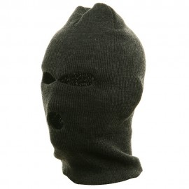 Ski Mask - Tri Hole - Grey(2)