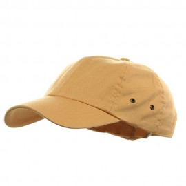 Youth Normal Dyed Washed Cap - Mango