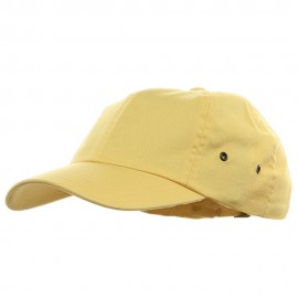 Youth Normal Dyed Washed Cap - Lemon Yellow