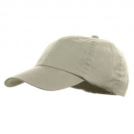 Youth Pigment Dyed Washed Cap - Beige