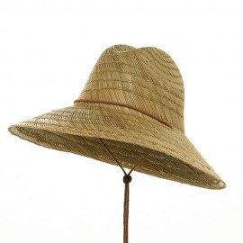 Safe Guard Straw Hat-Natural