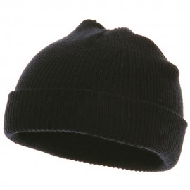 Infant Knit Cuff Beanie - Navy