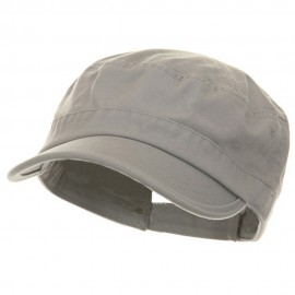Pet Spun Washed Army Cap