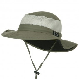 UPF 50+ Explorer Mesh Outdoor Hat - Fossil