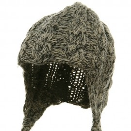 Wool Blend Youth Cable Helmet Hat