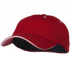 Deluxe Mesh Sandwich Bill Fitted Cap