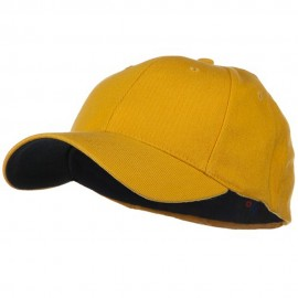 Low Profile Washed Flex Cap - Gold