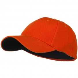 Low Profile Washed Flex Cap - Orange