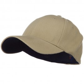 Low Profile Washed Flex Cap - Khaki