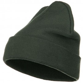 Big Size Acrylic Long Beanies-Grey