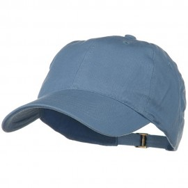 Low Profile Light Weight Brushed Cap - Light Blue