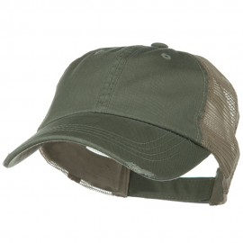 Washed Organic Cotton Mesh Cap
