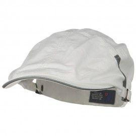 New Sandwich Bill Ivy Cap - White