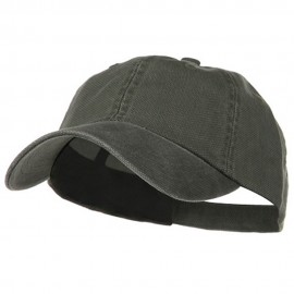 Pigment Dyed Heavy Cotton Oxford Cap - Olive