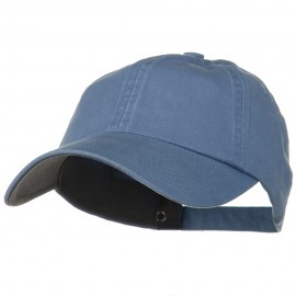 Low Profile Normal Dyed Cotton Cap - Sky Blue