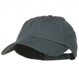Low Profile Normal Dyed Cotton Cap - Smoky Blue