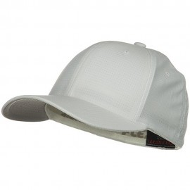 Flexfit Cool Dry Calocks Tricot Cap - White