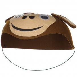Child Felt Monkey Hat