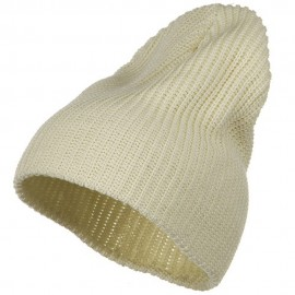 Ribbed Classic XL Size Cotton Beanie