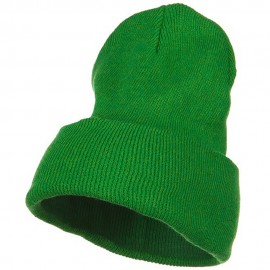 Stretch ECO Cotton Long Beanie - Kelly