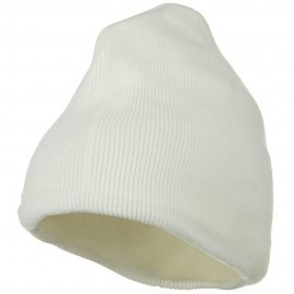 Fleece-Lined Plain Beanie